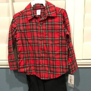 2 piece boys outfit new